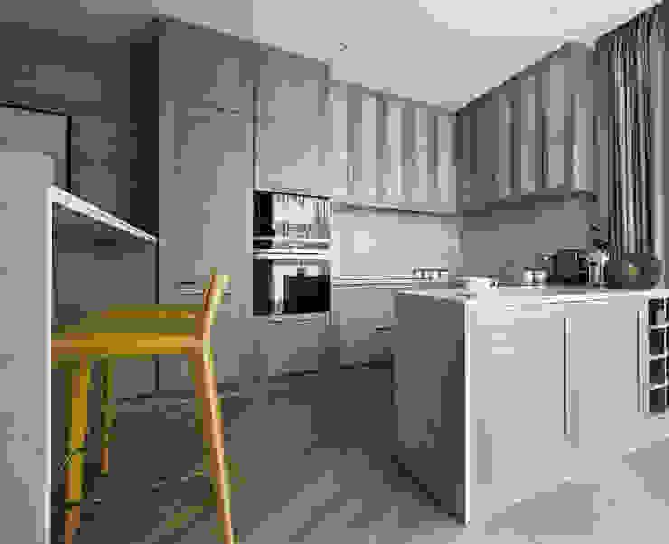 House in Minsk Modern kitchen by Unique Design Company Modern