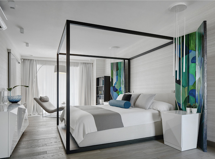 House in Minsk Modern style bedroom by Unique Design Company Modern