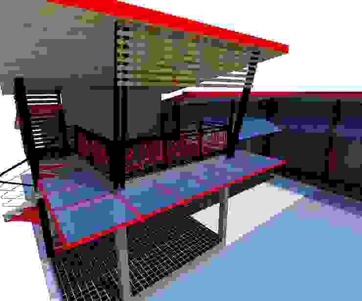งานออกแบบห้องพัก ขนาด 12 ห้อง ในตัวเมืองลำพูน โดย ชาคริต คอนสตรั่กชั่น