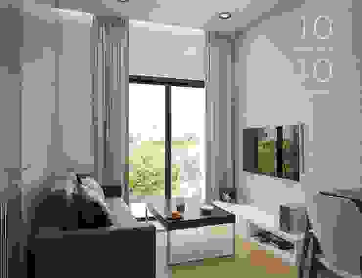 Interior Design The Green City Condominium โดย temsibdesign