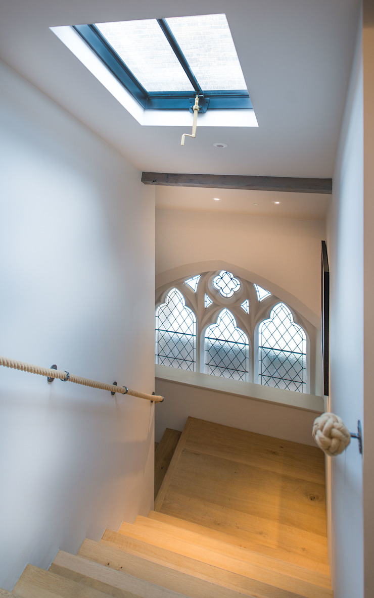 The Sanctuary - Battersea, London Eclectic style windows & doors by Clement Windows Group Eclectic
