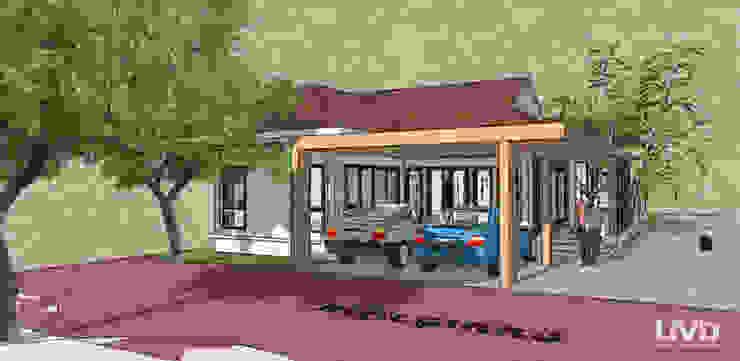 ผลงานการออกแบบบ้านพักอาศัย และควบคุมการก่อสร้าง โดย LIVD โดย LIVD