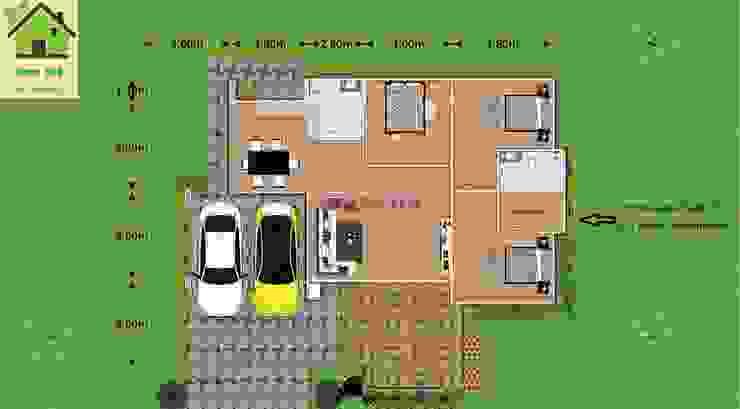 แบบบ้านโมเดิร์น M02 โดย หจก.Tratzone Property