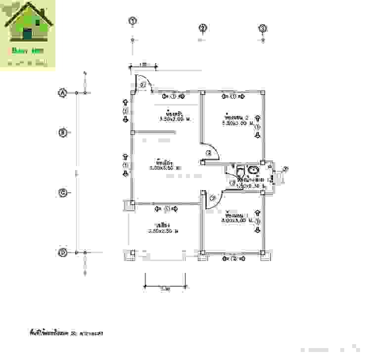 แบบบ้านชั้นเดียว B01 โดย หจก.Tratzone Property