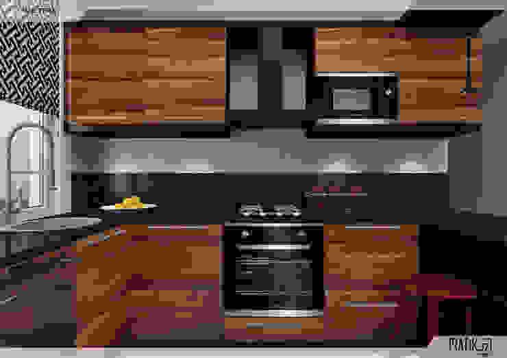 Aker Evi- Antalya Modern Mutfak PRATIKIZ MIMARLIK/ ARCHITECTURE Modern