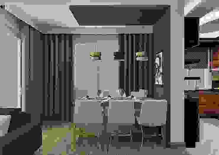 Yemek Masası PRATIKIZ MIMARLIK/ ARCHITECTURE Modern Yemek Odası