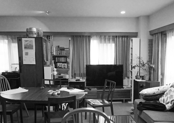 Dining & kitchen (before) 久保田章敬建築研究所