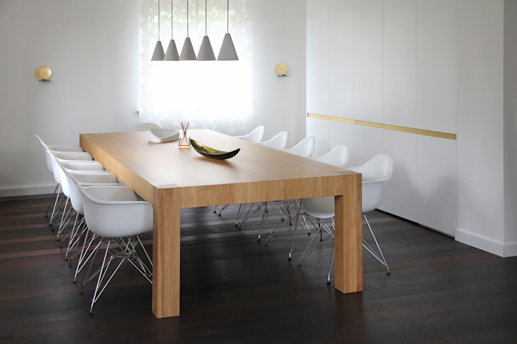 dieMeisterTischler Modern Dining Room Wood White