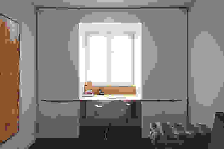 dieMeisterTischler Oficinas de estilo moderno Madera Blanco