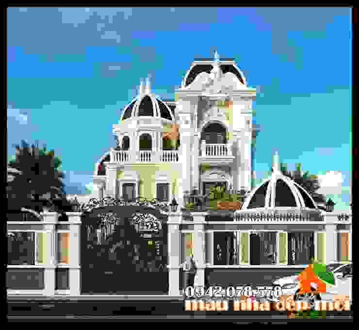 Phong thái kiến trúc uy nghiêm, trịnh trọng bởi Công ty TNHH TKXD Nhà Đẹp Mới Châu Á