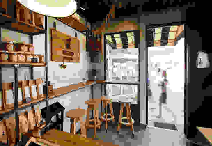 Gastronomía de estilo industrial de IK-architects Industrial