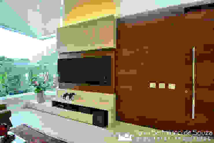 Estar Social - Home Theater Salas de estar modernas por Tania Bertolucci de Souza | Arquitetos Associados Moderno