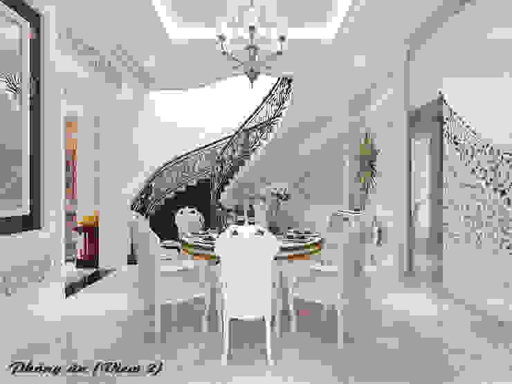 Biệt thự Trưng Nữ Vương – Đà Nẵng Hành lang, sảnh & cầu thang phong cách kinh điển bởi Công ty Kiến trúc Á Âu Kinh điển