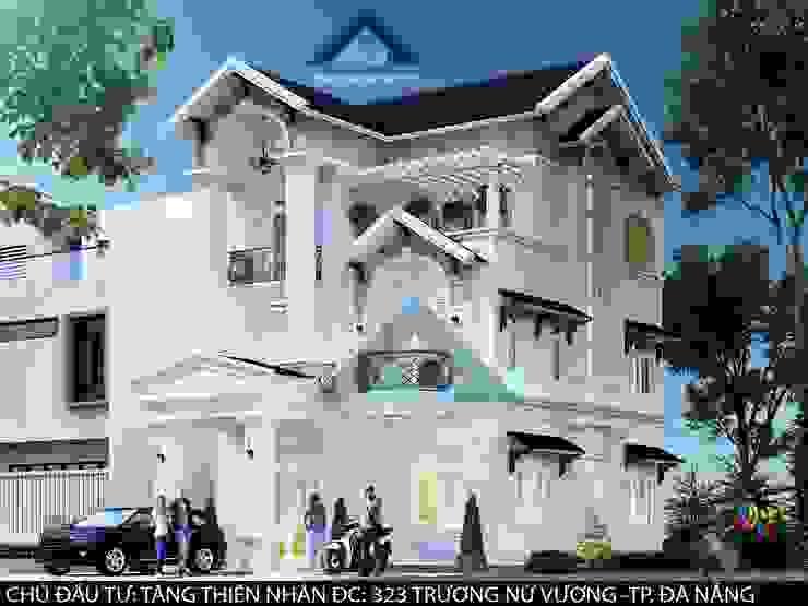 Biệt thự Trưng Nữ Vương – Đà Nẵng Nhà phong cách kinh điển bởi Công ty Kiến trúc Á Âu Kinh điển
