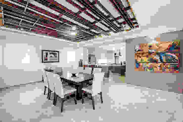 Comedores de estilo  por Constructora e Inmobiliaria Catarsis, Moderno Madera Acabado en madera