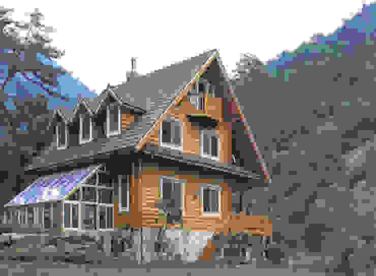 전원주택 by (주)현대디자인건축 북유럽