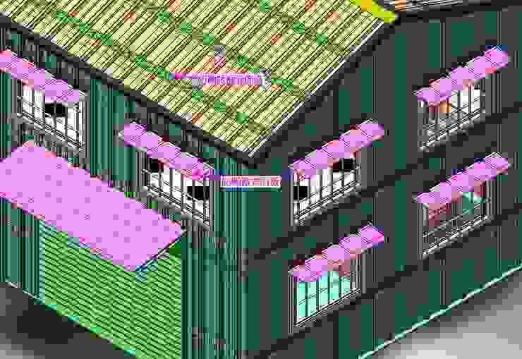 3D樣板屋 根據 鉅玹科技企業開發有限公司