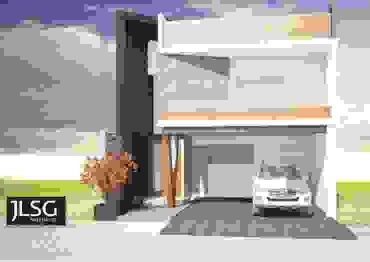JLSG Arquitecto Rumah tinggal White