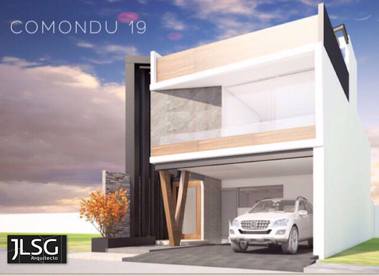 JLSG Arquitecto Rumah tinggal Besi/Baja White