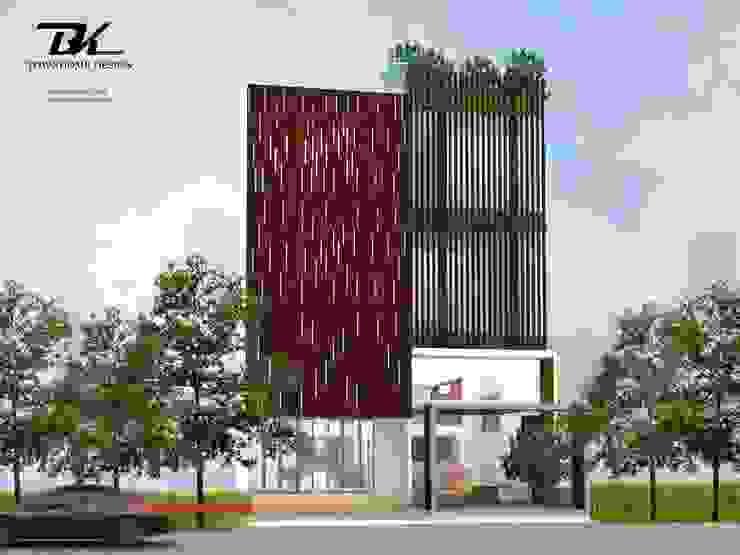 บ้านทาวน์โฮม โดย BK Archstudio โมเดิร์น