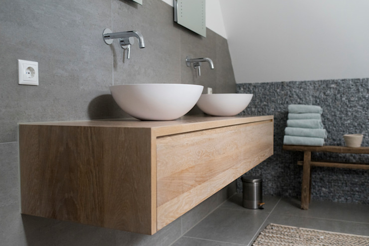 Country style bathrooms by Bongers Architecten Country