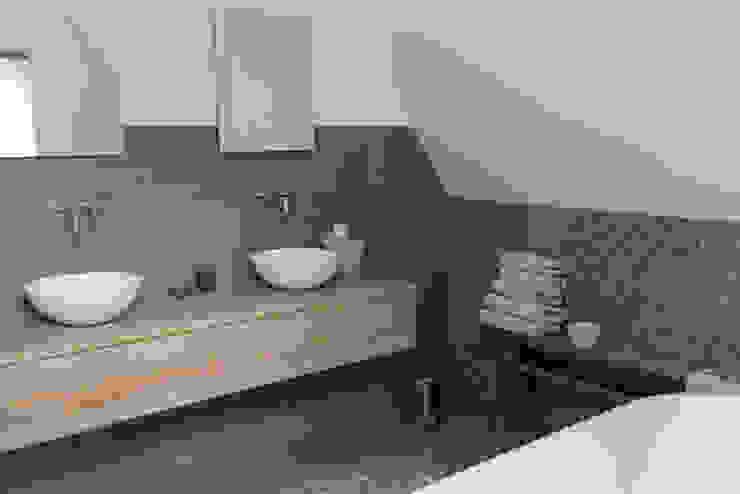 Woning Oud-Alblas Bongers Architecten Landelijke badkamers