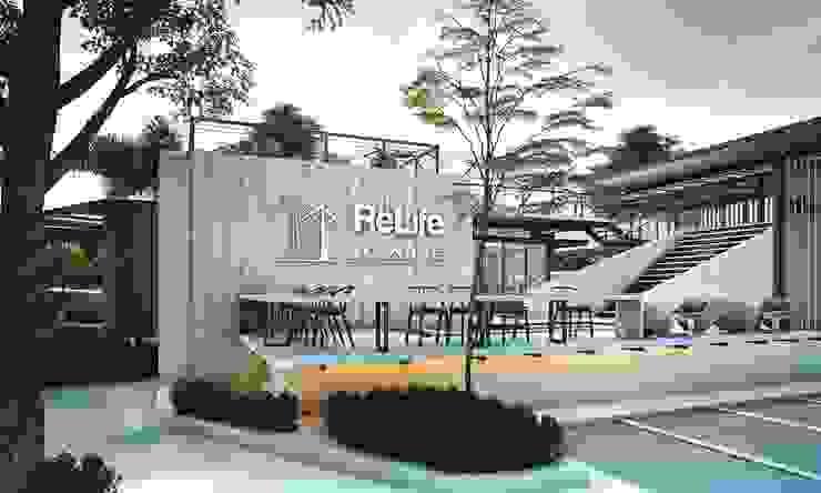 Relife Cafe โดย บริษัทไอแแอม ออม อาร์คิเทค จำกัด