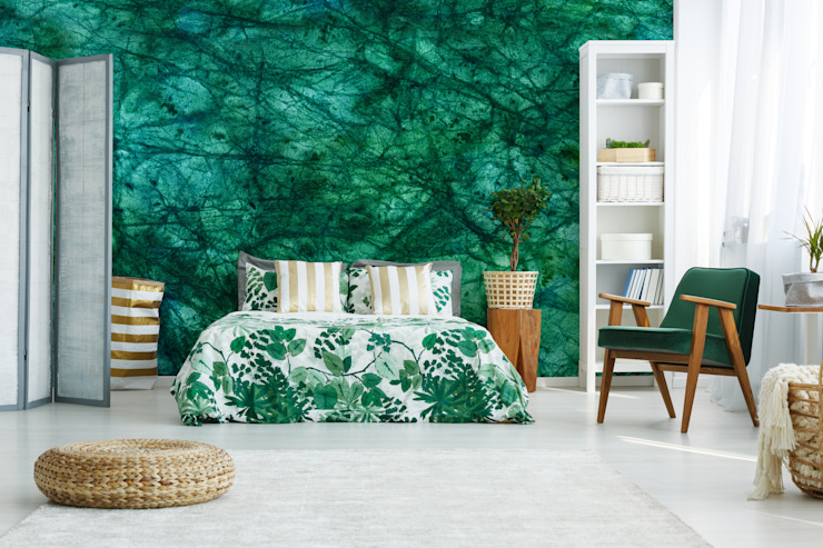 The Precious Malachit Pixers Chambre moderne Turquoise
