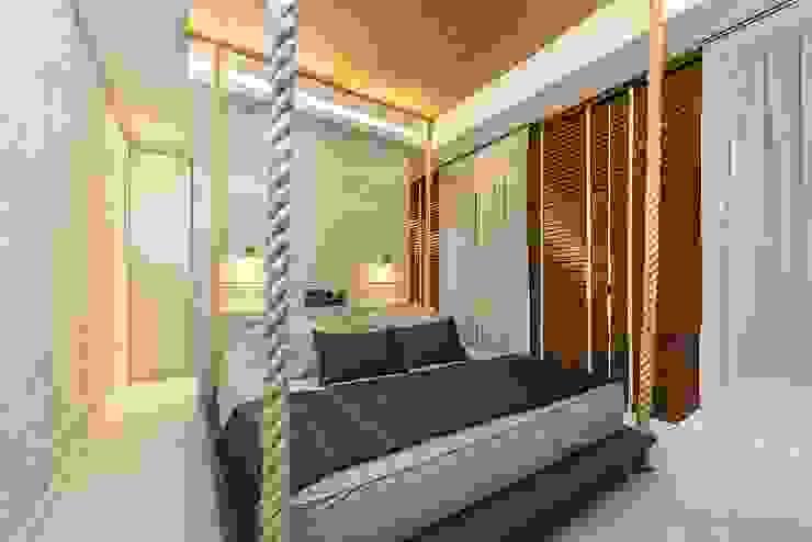 Dormitório Fernanda Patrão Arquitetura e Design Quartos modernos