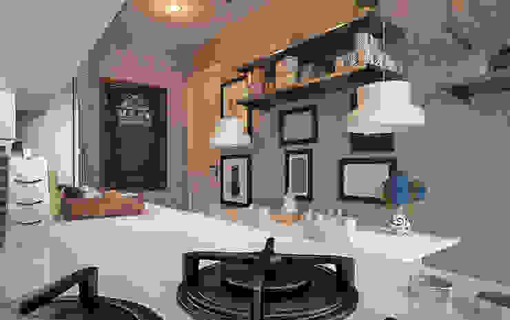 Cocinas de estilo  por 50GR Mimarlık, Moderno