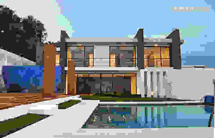[TT ARQUITECTOS] Country house Stone White