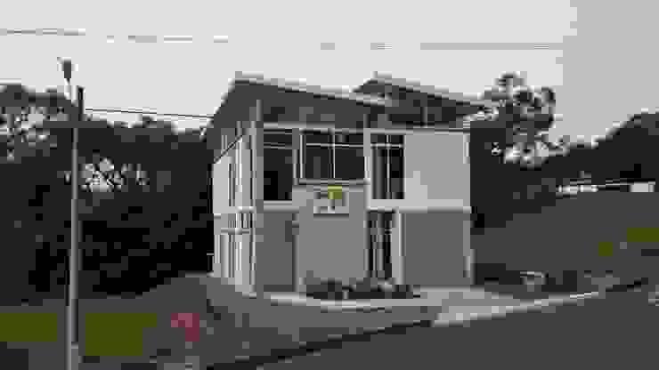 Vivienda Campestre Sostenible 1 – 2016 Casas de estilo minimalista de PILO Arquitectura Minimalista