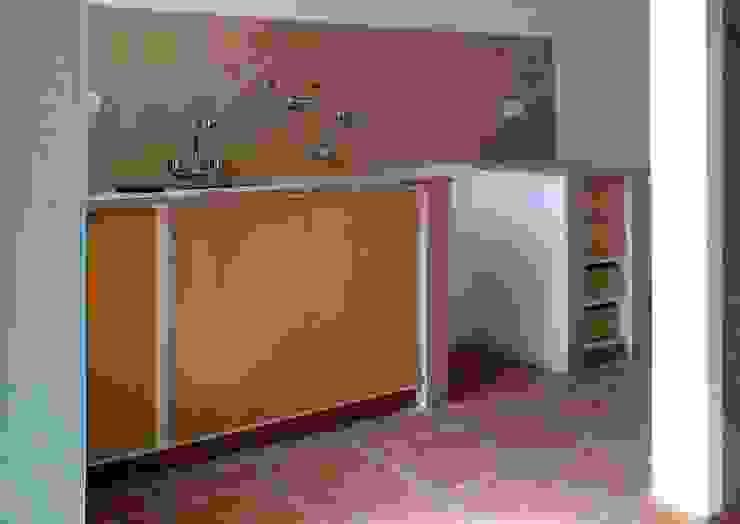 Punta Chacra Roldan Cocinas rústicas de Arq. Gustavo Piazza & Asociados Rústico