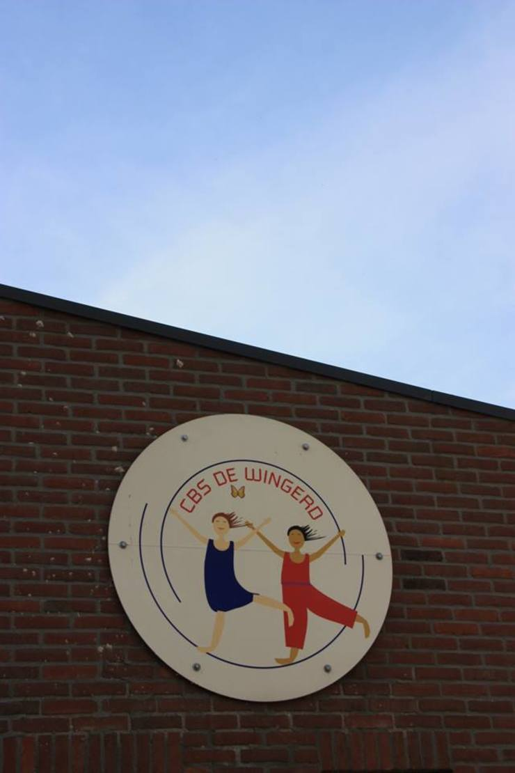 c.b.s. De Wingerd Moderne scholen van janny doornbos architektonische vormgeving Modern