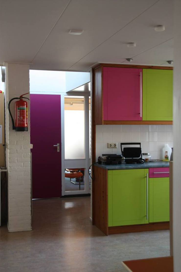 Openbare keuken Moderne scholen van janny doornbos architektonische vormgeving Modern