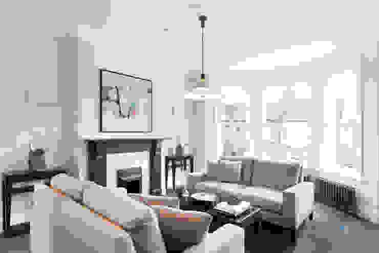 Kensal Green Flat Modern Living Room by London Home Staging Ltd Modern