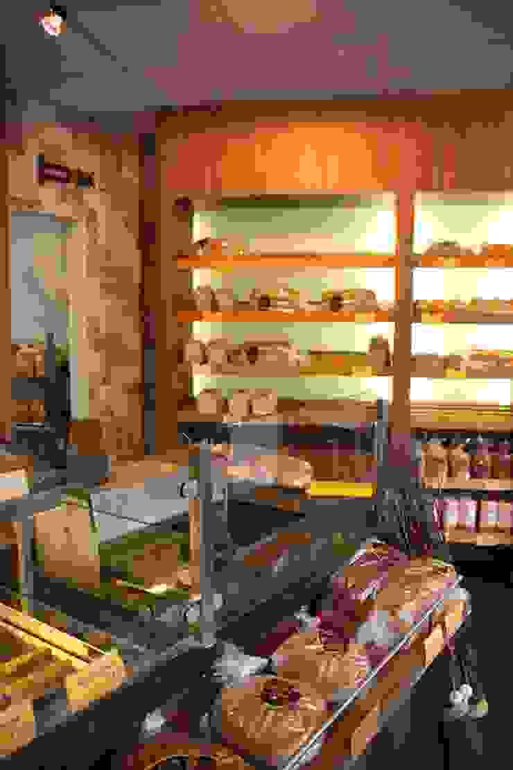 Bakkerij Moderne winkelruimten van janny doornbos architektonische vormgeving Modern