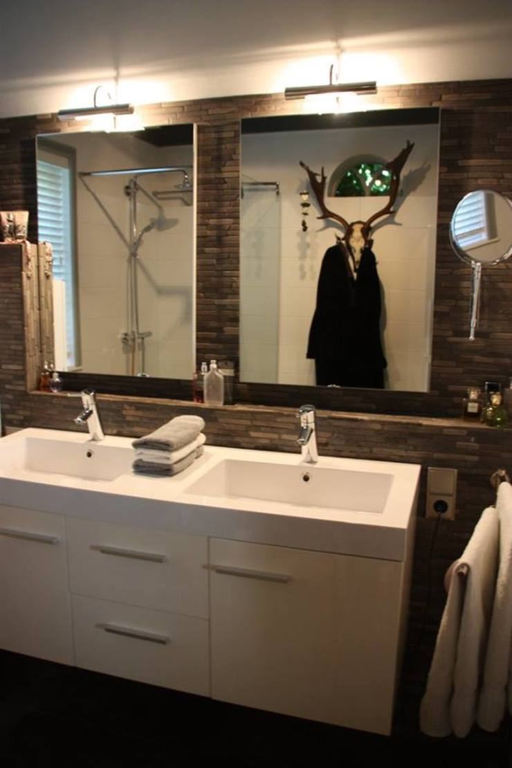 Badkamer en toiletontwerp Landelijke badkamers van janny doornbos architektonische vormgeving Landelijk
