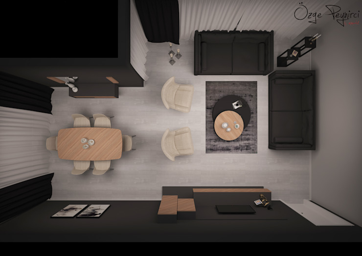 Oturma Odası | Living Room Modern Oturma Odası homify Modern