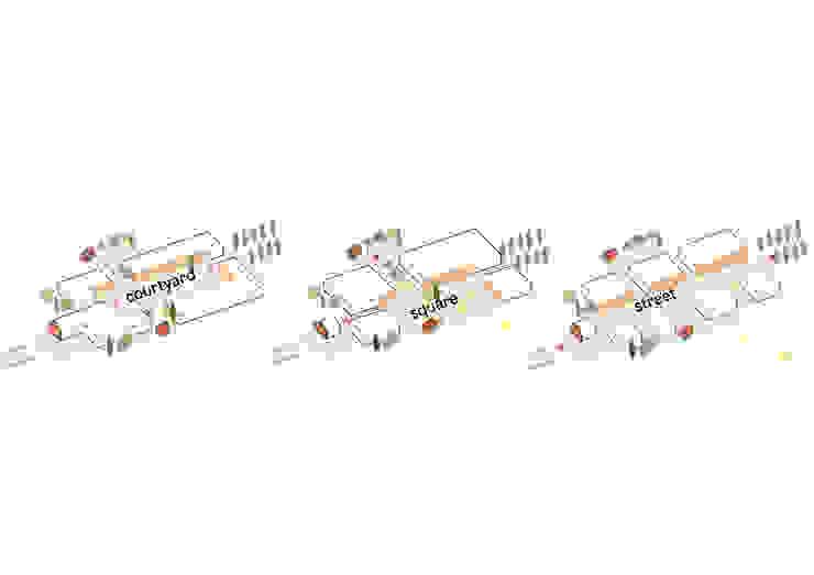 Onderzoek stedenbouwkundige typologie van Kevin Veenhuizen Architects