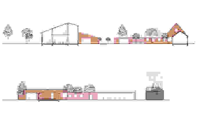 Doorsneden van Kevin Veenhuizen Architects