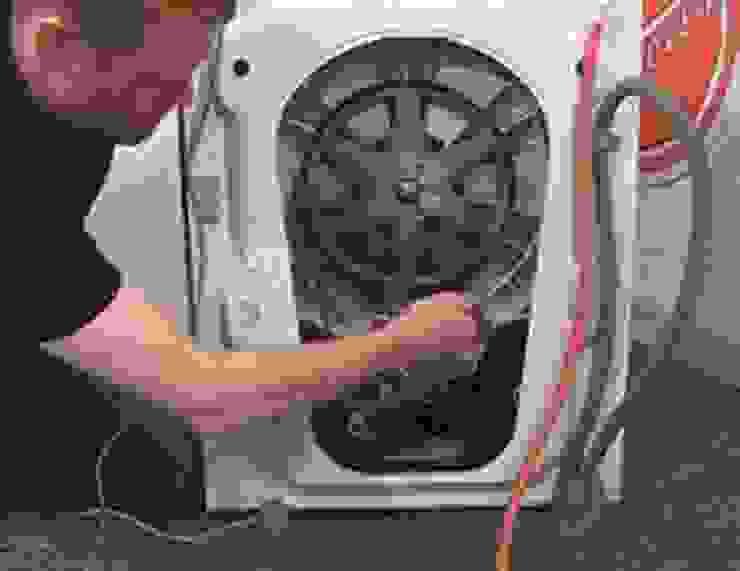 Washing machine repair project by Fridge Repairs Johannesburg
