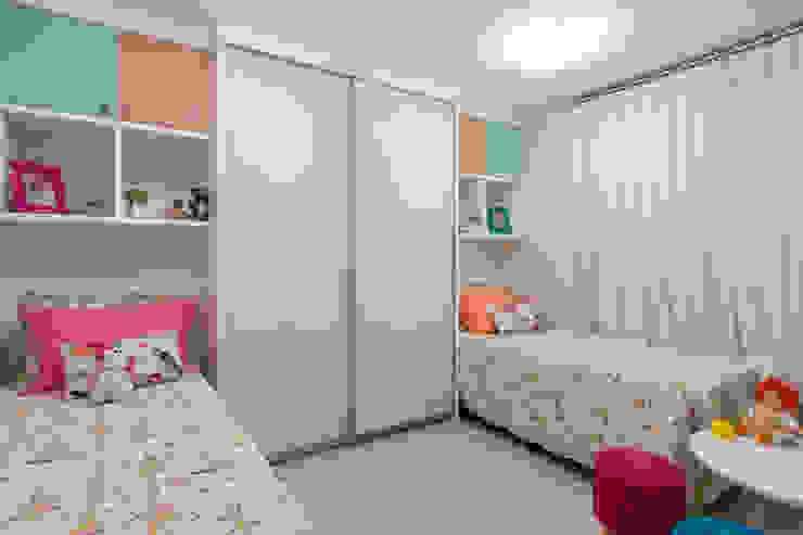 DM ARQUITETURA E ENGENHARIA Спальня для дівчаток