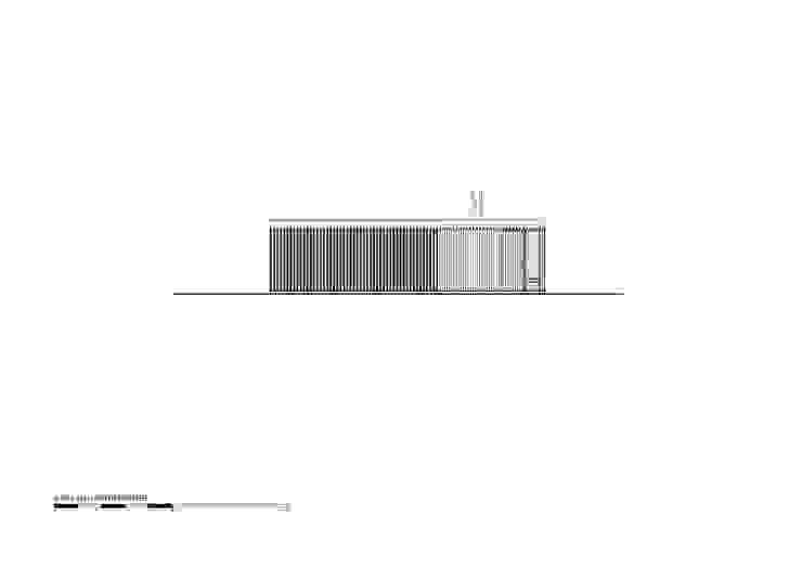 Vista frente Casas modernas: Ideas, imágenes y decoración de Luciano Kruk arquitectos Moderno