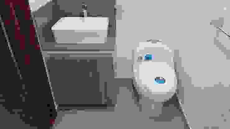 Baño Principal Baños de estilo moderno de bdl concept/studio Moderno