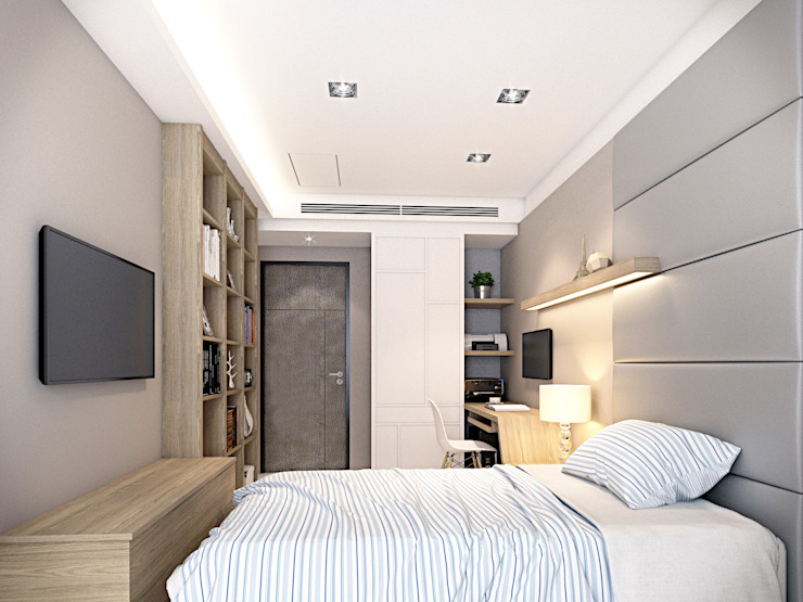 棠豐室內裝修設計工程有限公司 Moderne Schlafzimmer