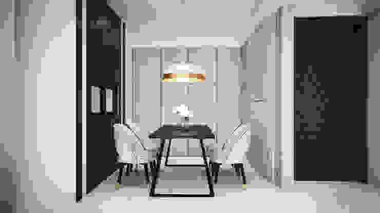 Comedores de estilo moderno de 棠豐室內裝修設計工程有限公司 Moderno