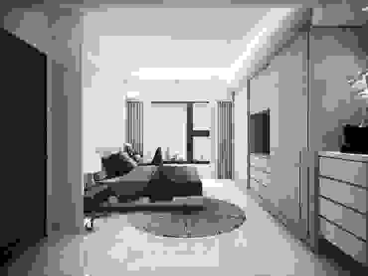 Modern Yatak Odası 棠豐室內裝修設計工程有限公司 Modern