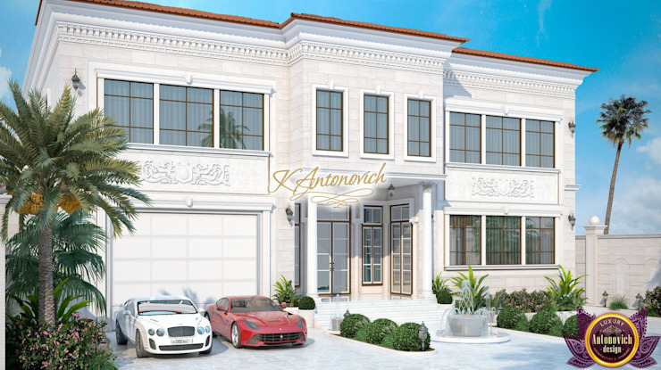  Facades Design by Katrina Antonovich Classic style houses by Luxury Antonovich Design Classic