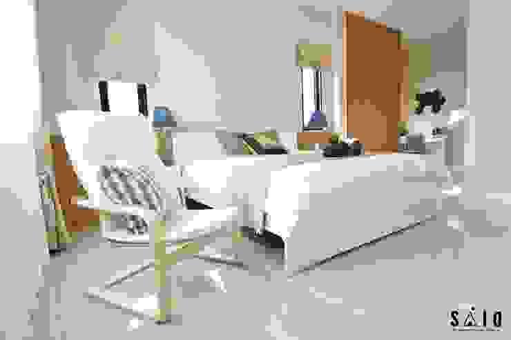 บ้านขนาด2 ห้องนอน โดย The scene art of interior design